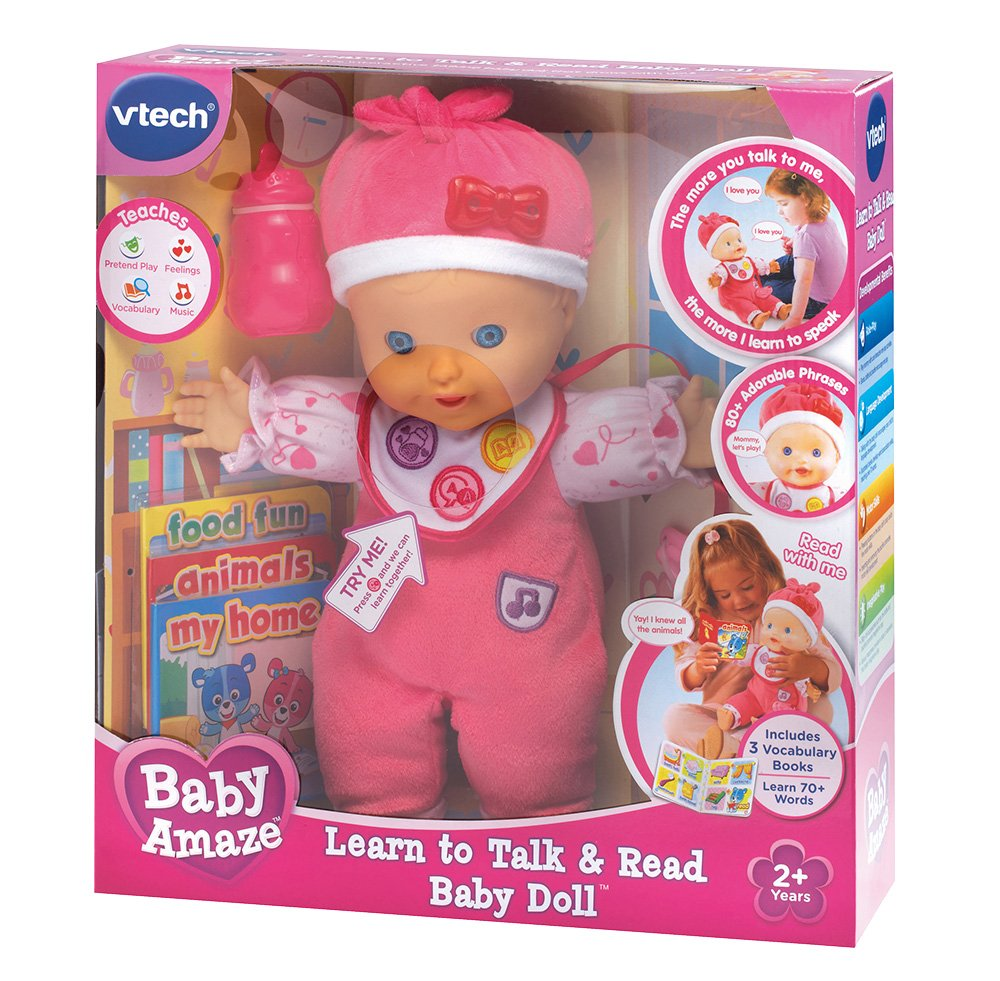 VTech Baby Amaze Learn to Talk and Read Baby Doll by VTech (Image #7)