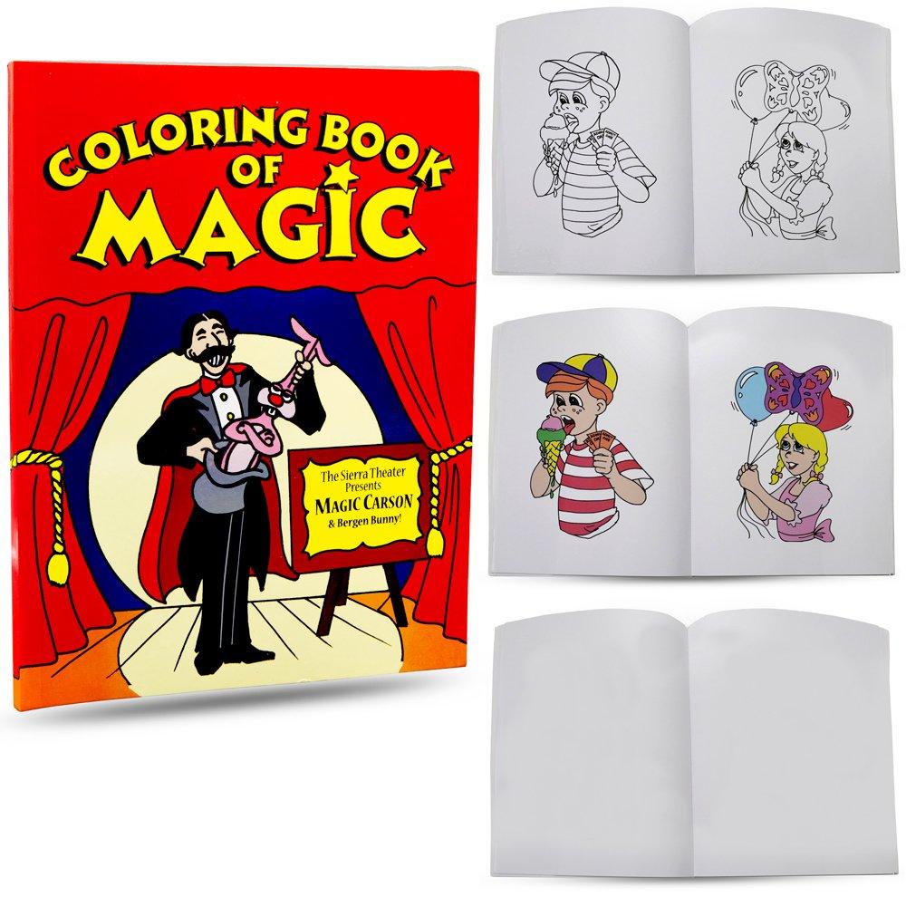 A fun magic coloring book amazon - Amazon Com Magic Makers Magic Coloring Book 8 5 X 11 Inches Toys Games