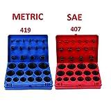 SAE Metric Rubber O-Ring Washer Assortment Kit
