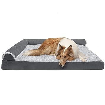 Amazon.com: FurHaven - Cama para perro, Gel Espuma: Mascotas