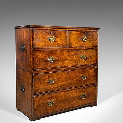 London 1780 - Cajonera con cajones (Madera de Nogal), diseño ...