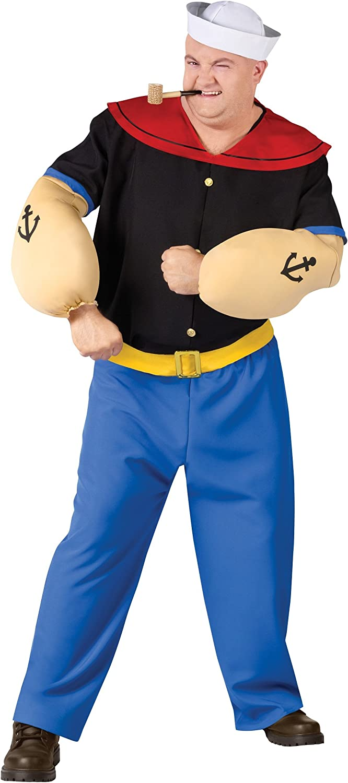 Plus Size Popeye Fancy Dress Costume 2X: Amazon.es: Juguetes y juegos