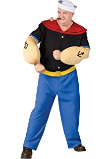 Amazon Com Fun World Costumes Men S Mens Popeye Costume