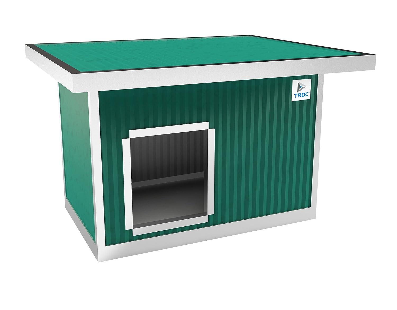 TRDC Caseta Aislante para Perro Standard con Techo Aumentado para el Exterior (Adventure): Amazon.es: Productos para mascotas