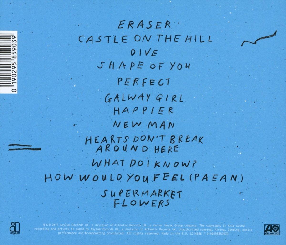 Ed Sheeran - Divide - Amazon.com Music