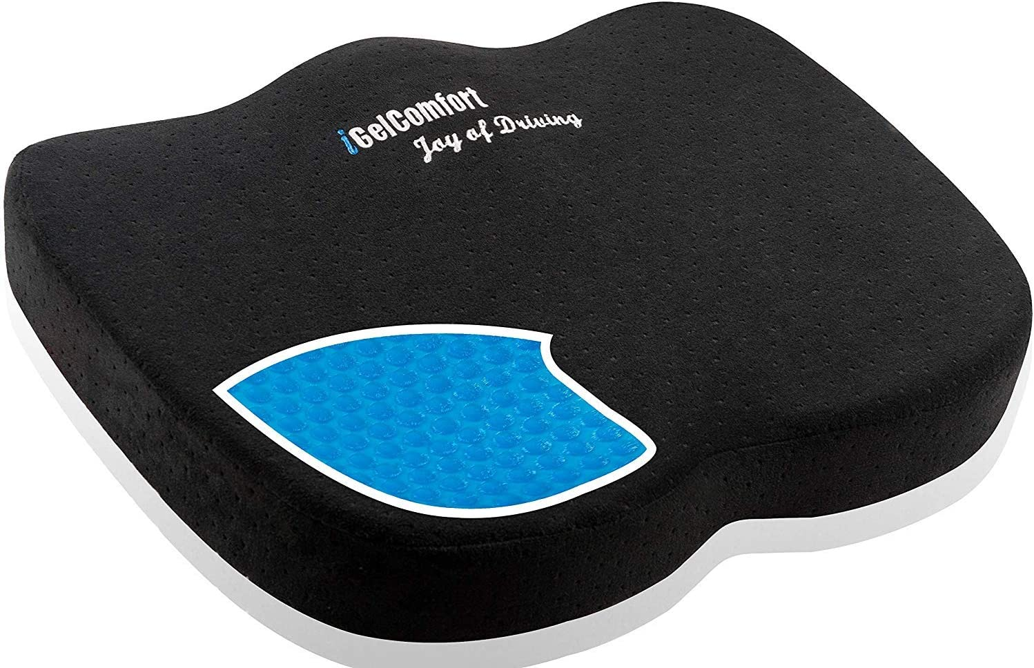 Office Made in USA Car Tailbone For Coccyx Back Chair Travel Postnatal GSeat ULTRA Orthopedic Gel and Foam Seat Cushion and Sciatica Pain//Discomfort Black Prostate