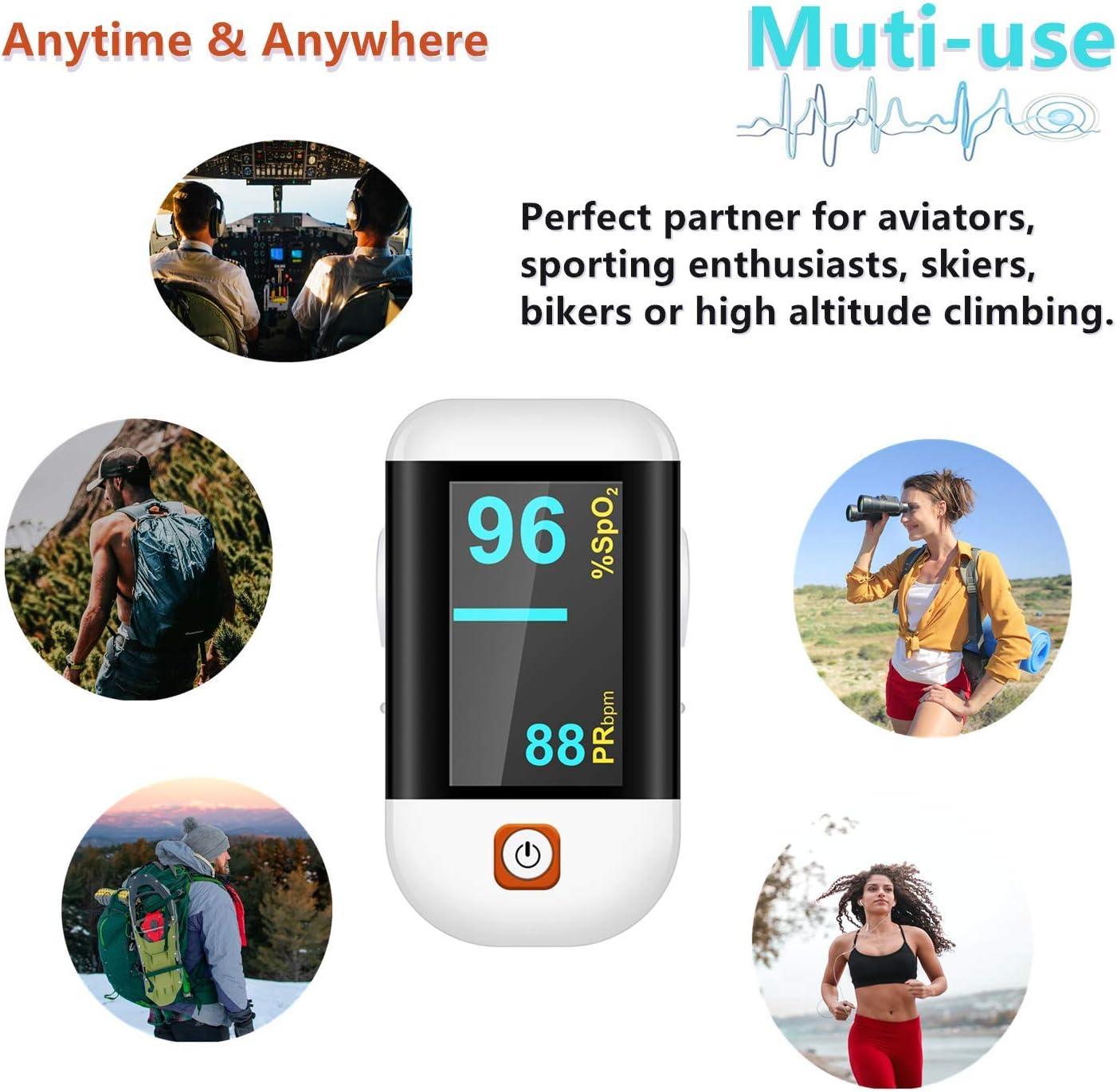AAA Health & Household Pulse Oximeter Fingertip Fingertip Oximetry ...