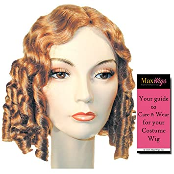 Amazon Com 1840 Style Color Light Chestnut Brown Lacey Wigs