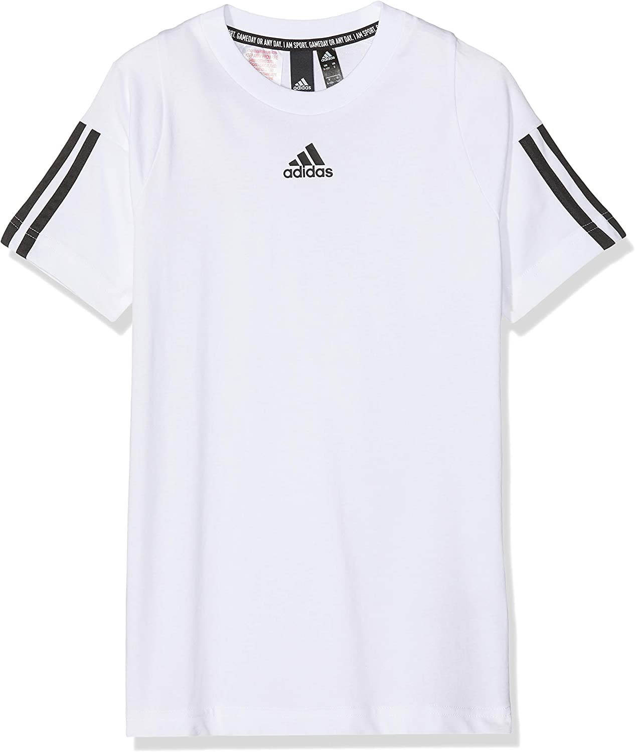adidas Childrens Must Haves 3-stripes Short Sleeve T-Shirt