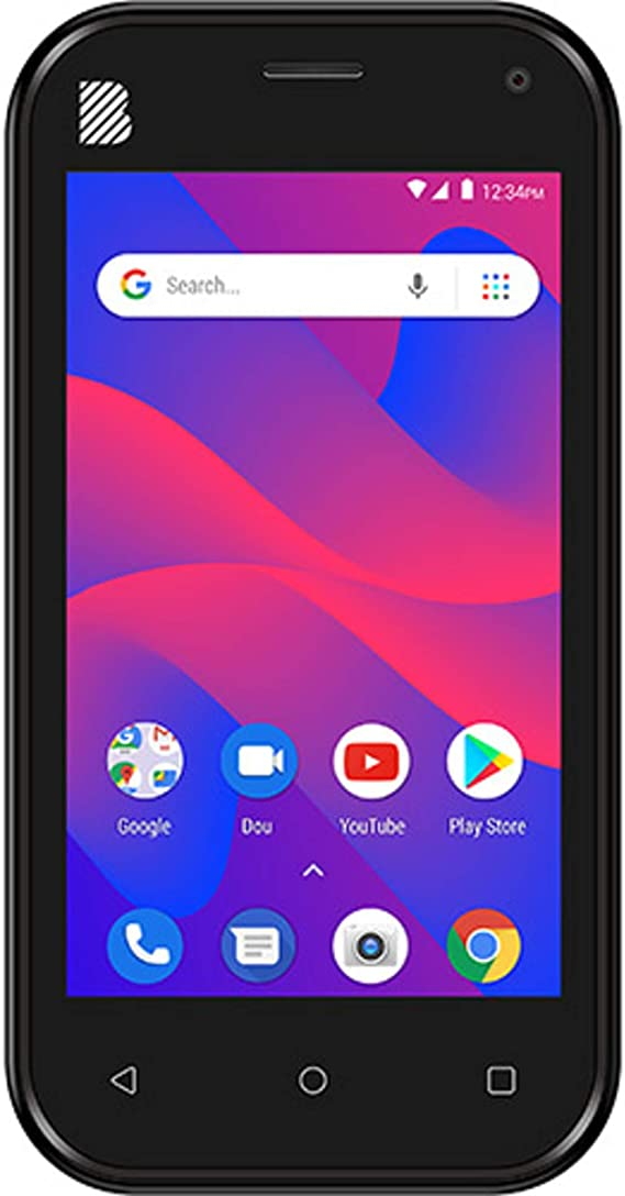 Blu Advance L5 - Teléfono Celular Desbloqueado de fábrica, 16 GB, Memoria Interna, cámara Dual (Negro): Amazon.es: Electrónica