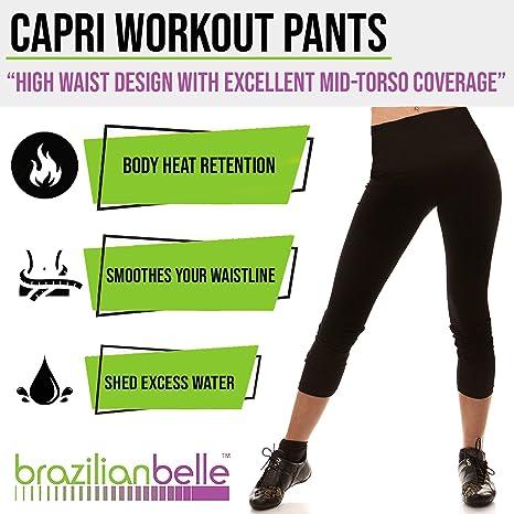 59ed31994705f Brazilian Belle Capri Hot Weight Loss Pants Women (XX-Large) - The Fastest