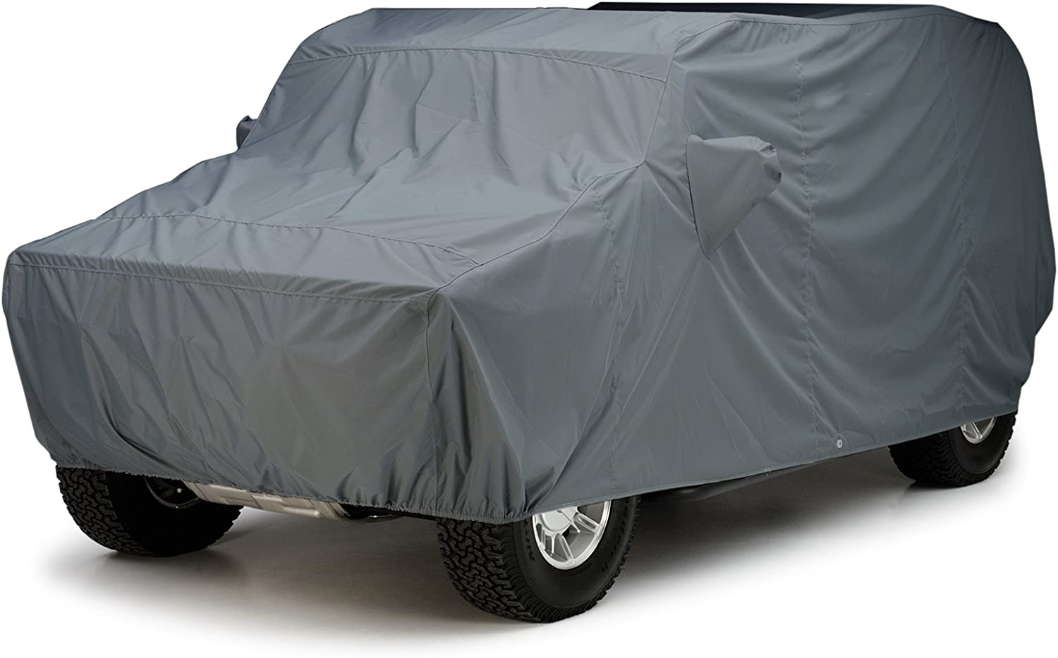 Covercraft Custom Fit Car Cover for Cadillac Escalade - WeatherShield HP Series Fabric, Gray