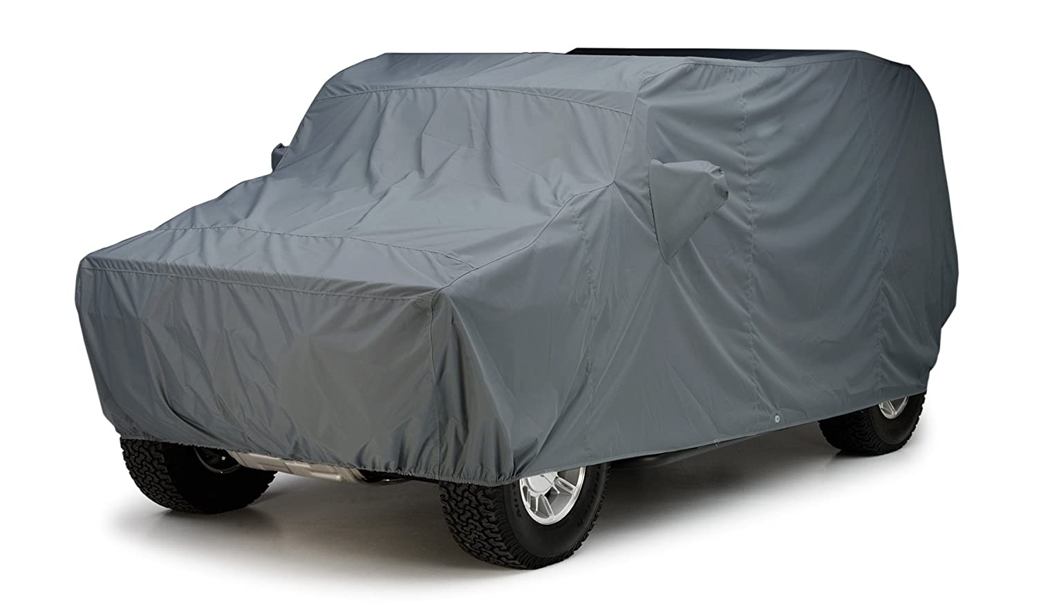 WeatherShield HP Fabric, Yellow Covercraft Custom Fit Car Cover for Land Rover Defender 90