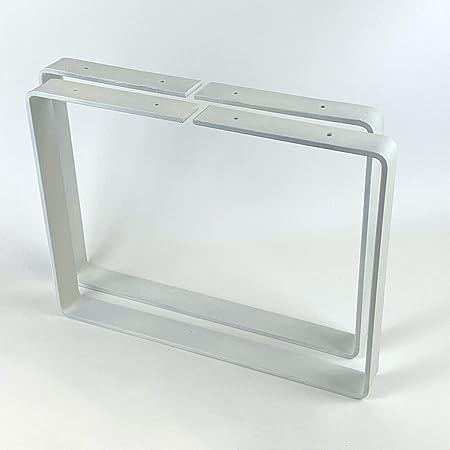 Juego de 2 bancos patas de dise/ño industrial banco de acero mesa de caf/é y mesa auxiliar BL003