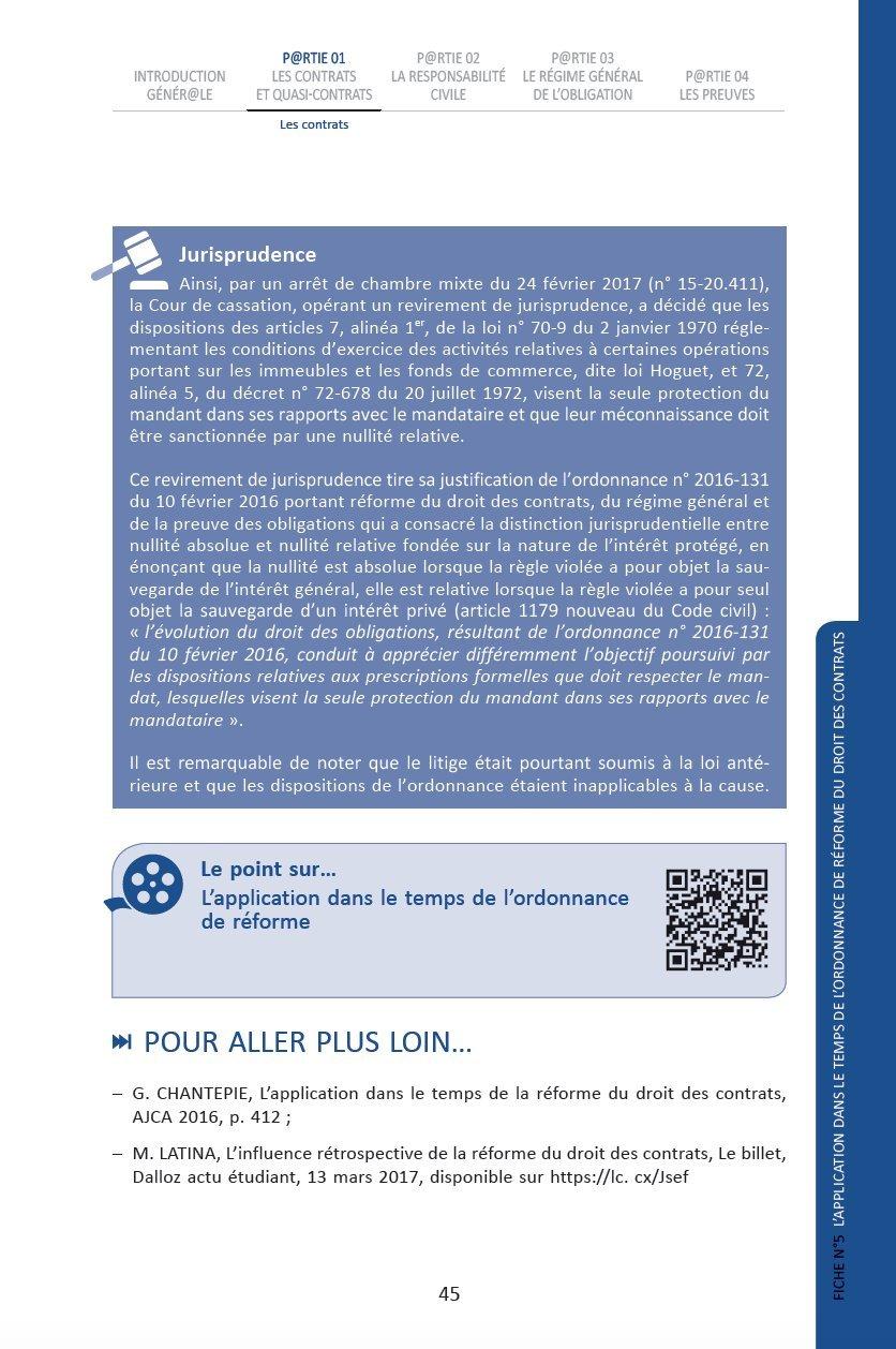 Amazon Fr Cours De Droit Des Obligations Daniel Bert Kami Haeri