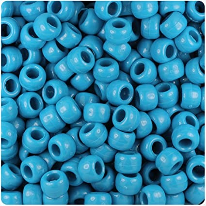 *3 FOR 2* 100 x Navy Blue Opaque 9x6mm Highest Quality Barrel Pony Beads