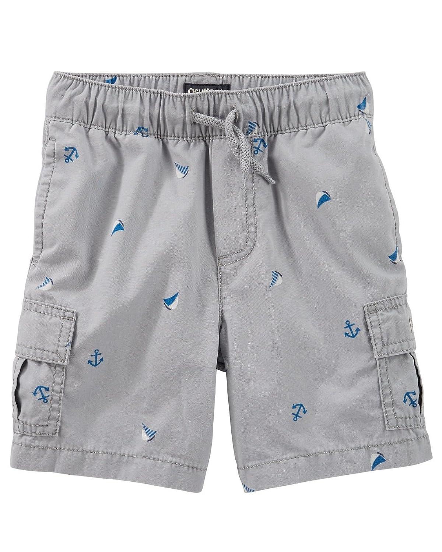 a029c61794e OshKosh B gosh Baby Boys  Pull On Nautical Print Cargo Shorts ...