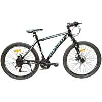 Hercules Roadeo Hank 26T 21 Speed Premium Geared Cycle(Pitch Black)