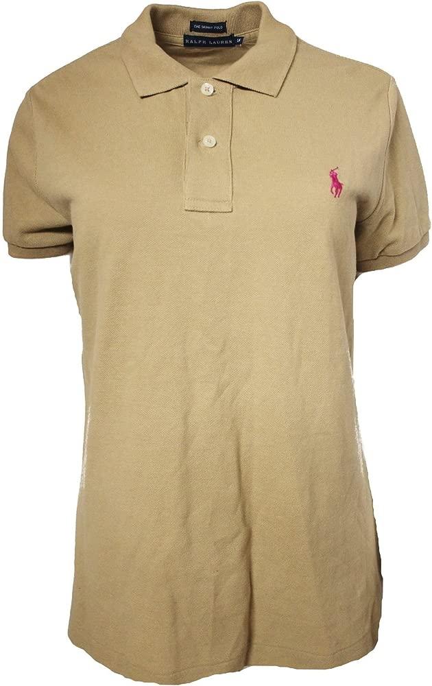 Polo Ralph Lauren - Camiseta - para Mujer Marrón Canela Large ...