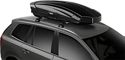 Amazon Com Thule Motion Xt Rooftop Cargo Carrier Black Large Sports Outdoors