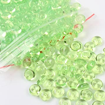 Prevently Toy Slime Esponjoso, Cuentas Coloridas para pecera casera, Bricolaje, Manualidades, Fiesta, Verde: Amazon.es: Deportes y aire libre