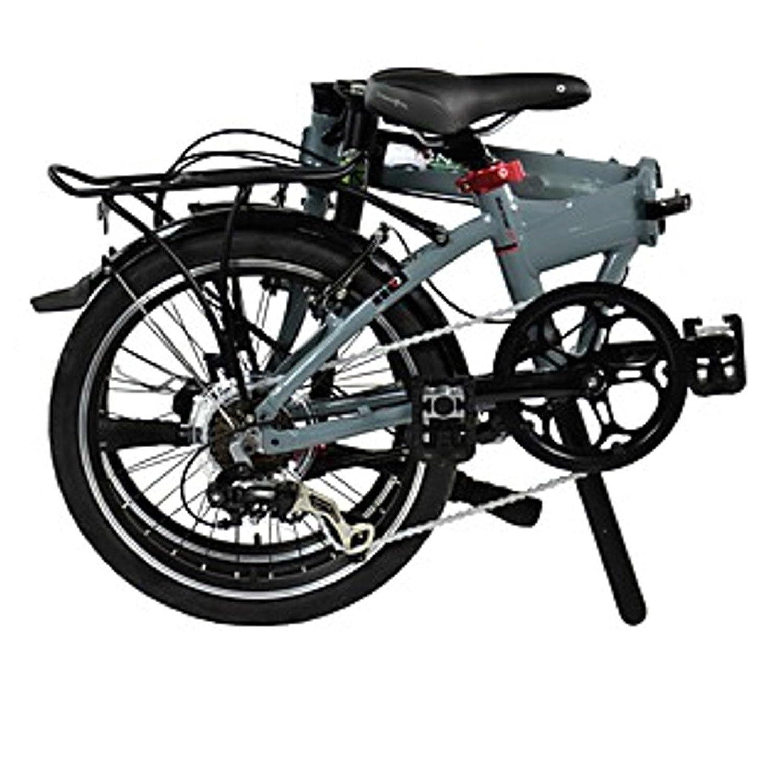 Dahon Faltrad MARINER D7 7 Gang Grau 20 Zoll Klapp Fahrrad Herren Damen Kettenschaltung Bike, 942072: Amazon.es: Deportes y aire libre
