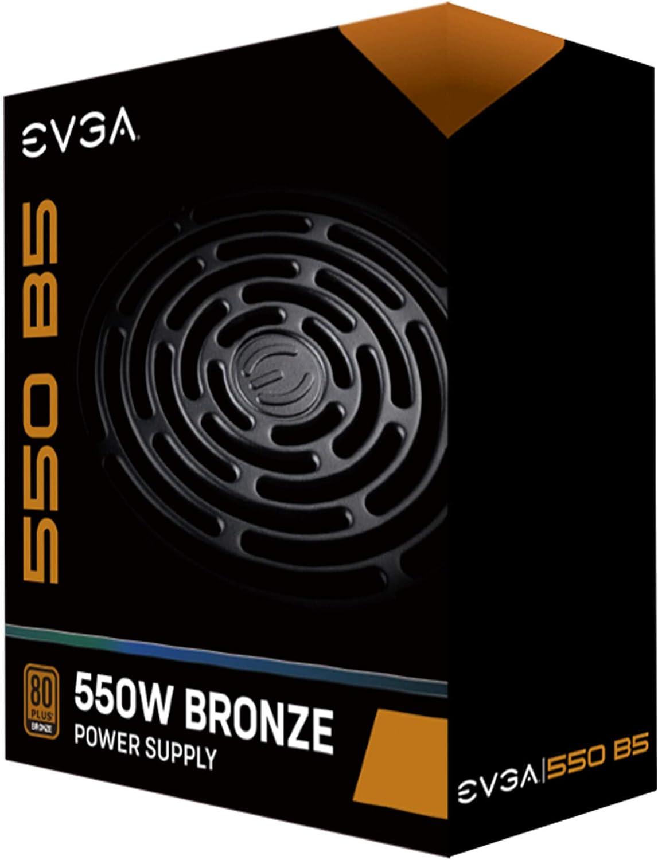 80+ Bronze 750W 5 Year Warranty EVGA 750 BQ Semi Modular Includes Free Power On Self Tester Power Supply 110-BQ-0750-V1