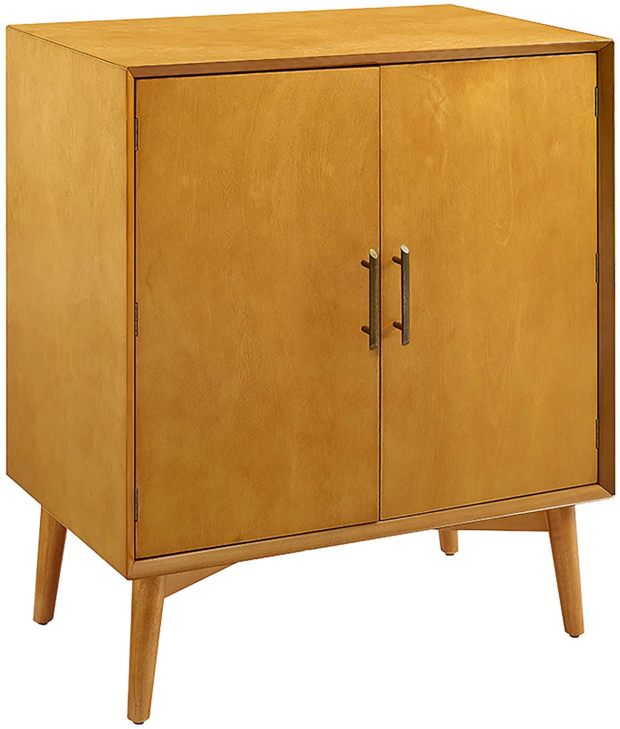 Crosley Furniture Landon Mid-Century Modern Bar Cabinet, Acorn by Crosley Furniture
