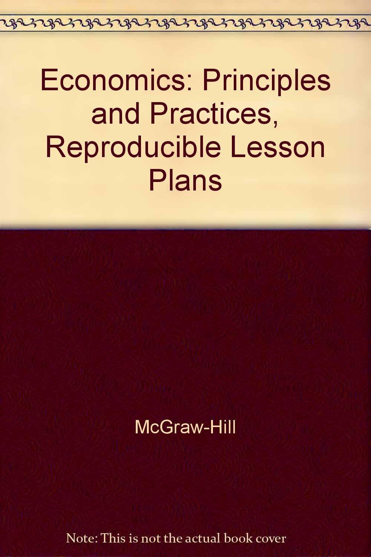 Download Economics: Principles and Practices, Reproducible Lesson Plans PDF