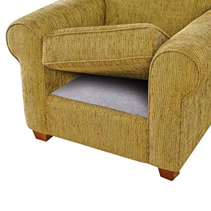 BLS Cushion Non Slip Underlay, Non Slip Grip Pad Keep Sofa Couch Cushions  From