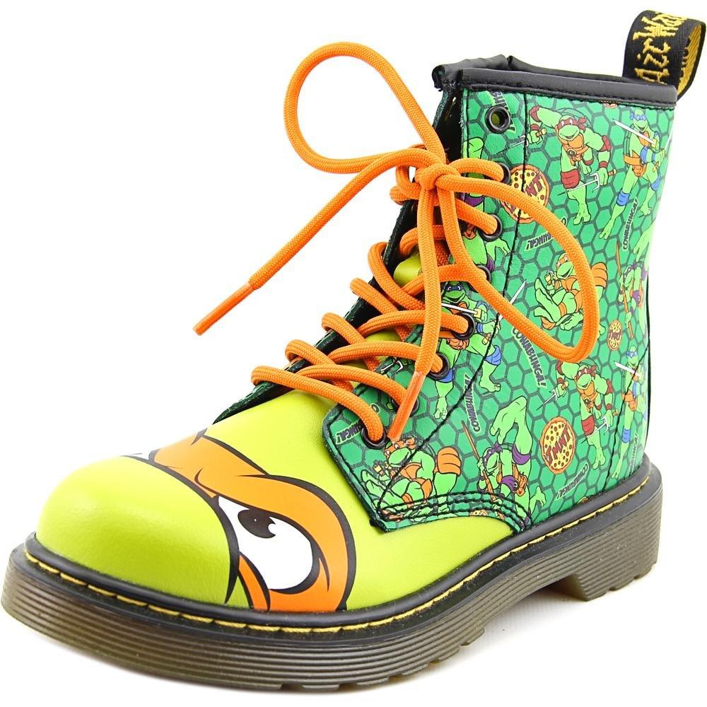Dr. Martens Mikey T Lamper Boot Green Orange