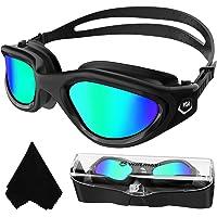 Winline Gafas de natación polarizadas,protección Anti-vaho protección UV sin filtraciones visión Clara fáciles de…
