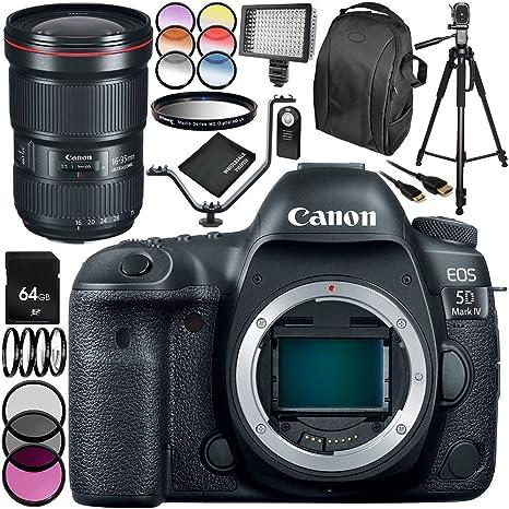 Canon EOS 5D Mark IV cámara DSLR con EF 16-35 mm f/2,8L III USM ...