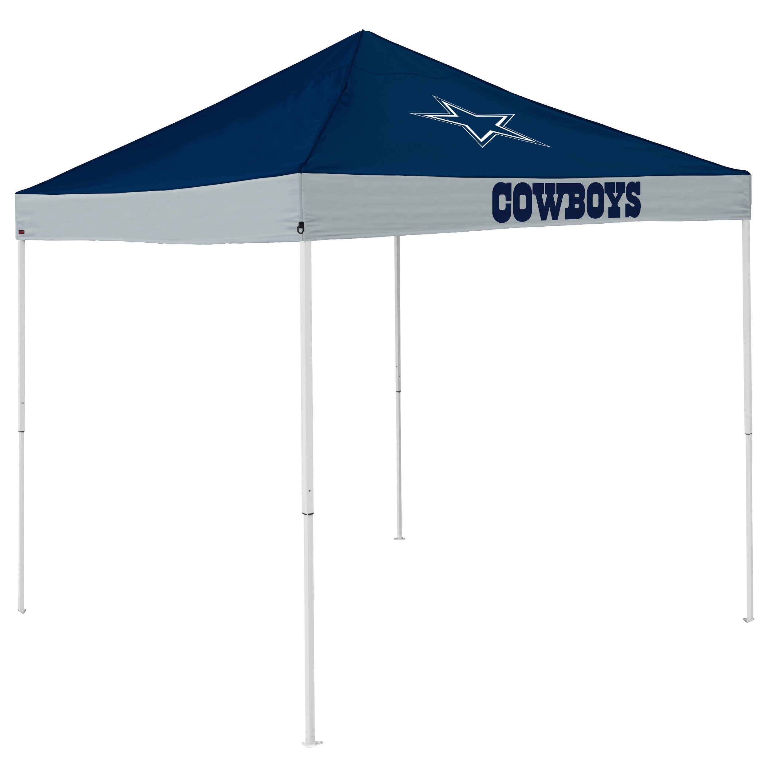 Logo Brands NFL Dallas Cowboys Economy Tent Economy Tent, Navy, One Size