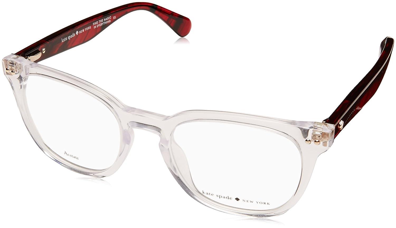 069f35faa93 Eyeglasses Kate Spade Jeri 0INA Dmnfbr Black at Amazon Men s Clothing store