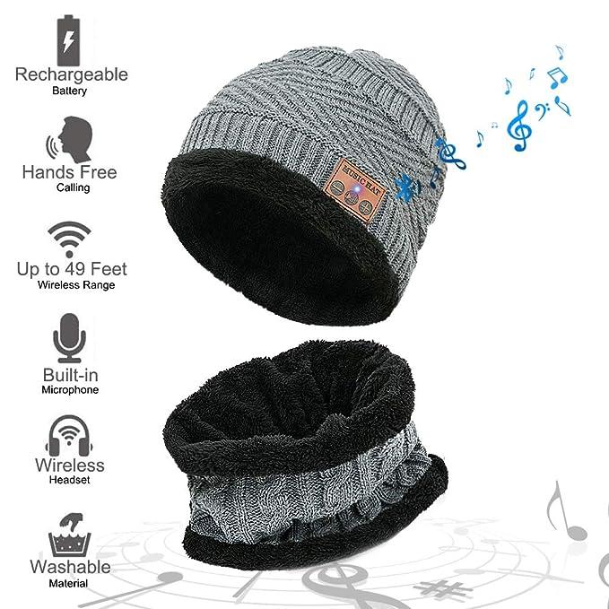 MEETYOO Cappello Bluetooth 320dee178ae3