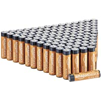 Deals on AmazonBasics 100 Pack AAA High-Performance Alkaline Batteries