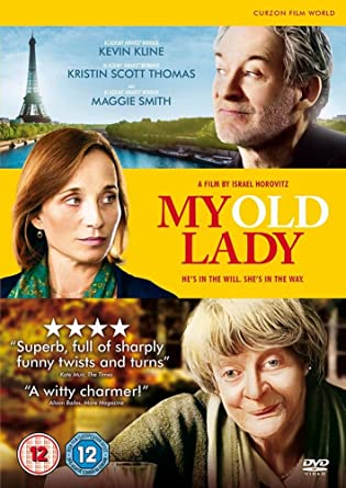 My Old Lady Dvd 2014 Amazoncouk Maggie Smith Kevin