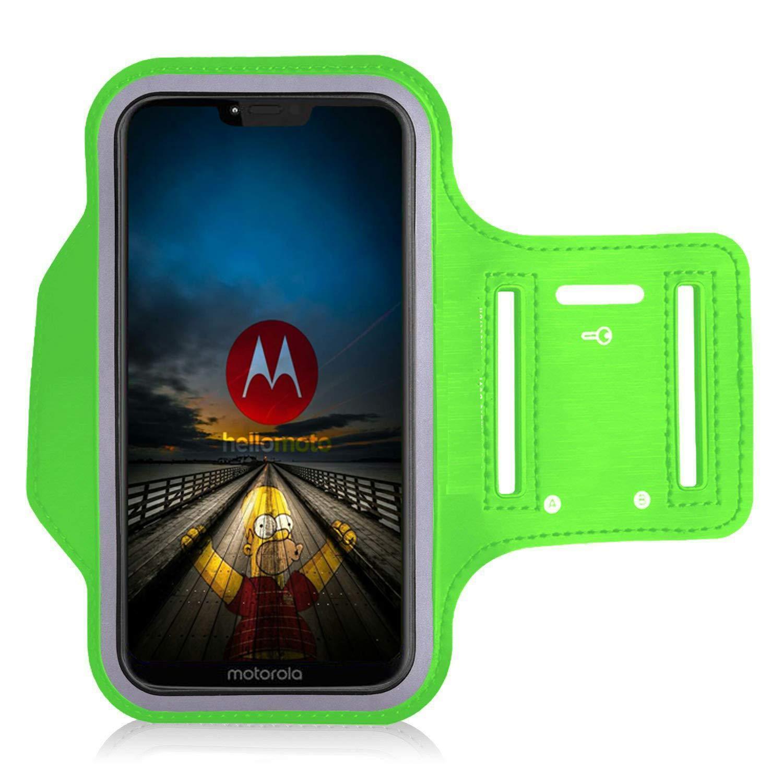 Hiking for Running Biking Canoeing Walking BLACK Horseback Riding and other Sports For Motorola Moto G7 Power KP TECHNOLOGY Moto G7 Power Armband Case