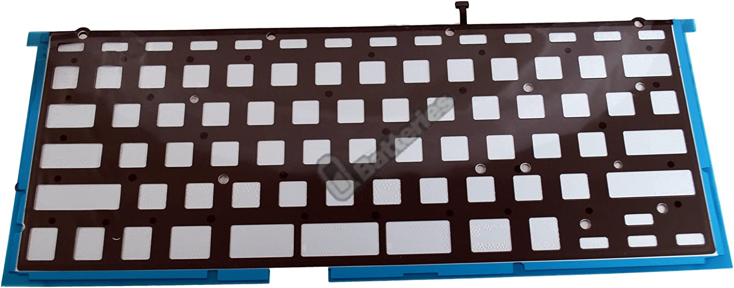 MCPLKB-03-BL UBatteries Compatible Laptop Keyboard Backlight Replacement for Apple MacBook Pro 13 A1425 2012 2013 Series