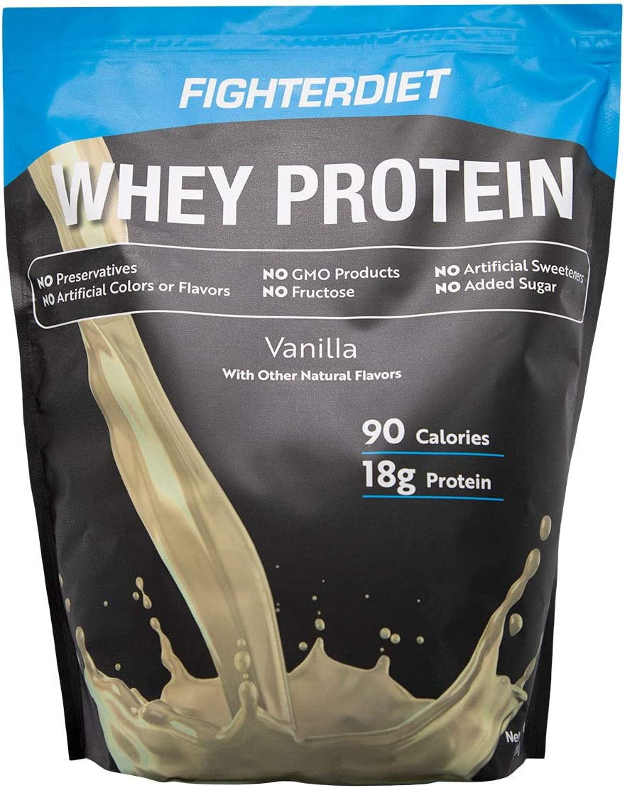 Fighterdiet Whey Protein Vanilla – 32 oz