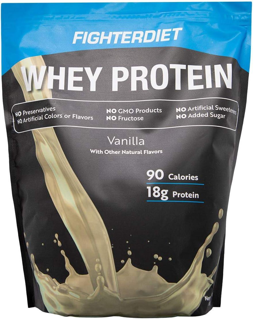 Fighterdiet Whey Protein Vanilla