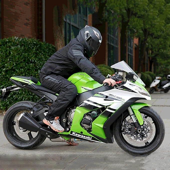 MERRYHE Unisex ABS Motocicleta Cara Completa Casco Lentes Dobles Motocross Cara Abierta Cuesta Abajo Flip Up Cascos Para Off-Road Riding Racing Moto ...
