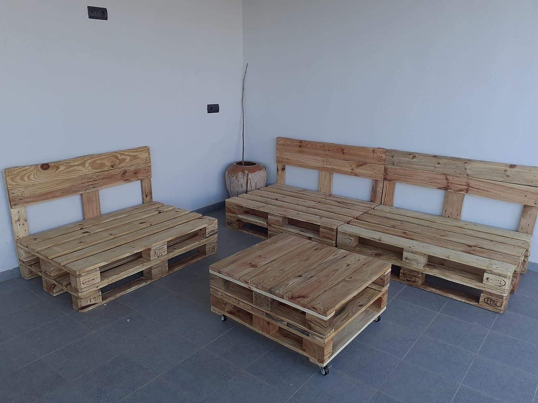 Palets de Madera Barnizados de 120x80 para muebles y ...