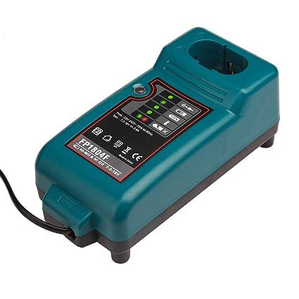 NI-CD & NI-MH Cargador de batería para Makita Cargador DC7100, DC9700, DC18RA, DC18SE, DC1414 Batería 7.2V-18V Reemplazo de la herramienta eléctrica ...