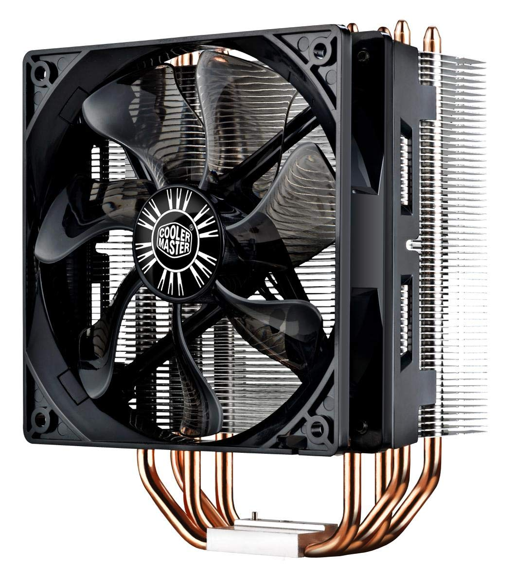 Cooler Master Hyper 212 Evo CPU Cooler with PWM Fan, Four Direct Contact Heat Pipes by Cooler Master