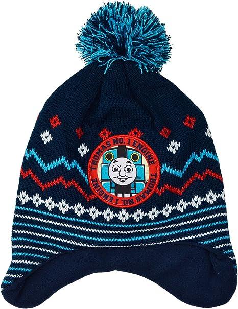 Thomas The Tank Engine Hat Boys Warm Winter Bobble Hat