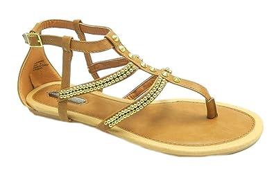 f13e7ae18a75 Dorothy Perkins Womens Summer Gladiator Buckle Strap Sandals UK 5 ...