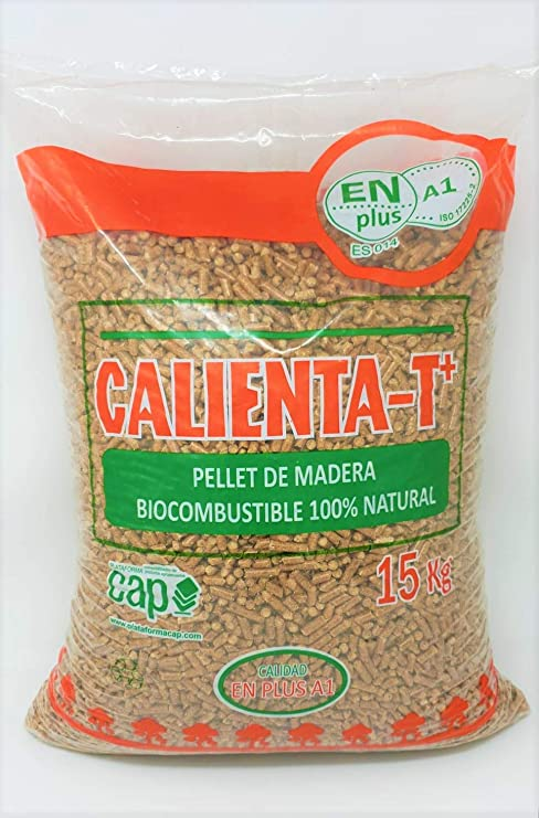 PELLETS CALIENTA-T+ Palet 70 Sacos