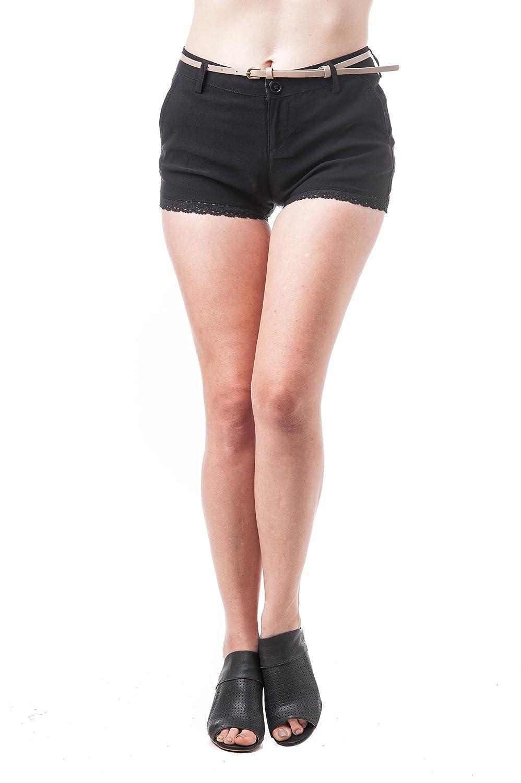 TALLA L. Hollywood Star Fashion - Pantalón Corto Deportivo - para Mujer